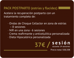 Pack Postparto Estrias y Flacidez